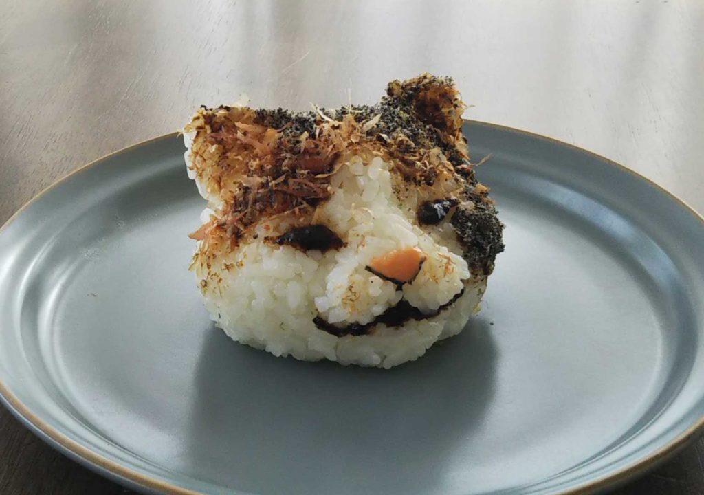 cat rice ball 猫 おにぎり おむすび