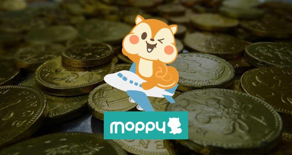 moppy モッピー JAL マイル