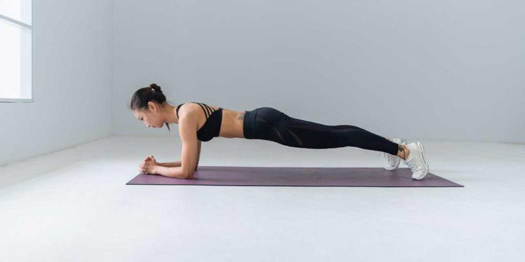 plank プランク 自重トレーニング