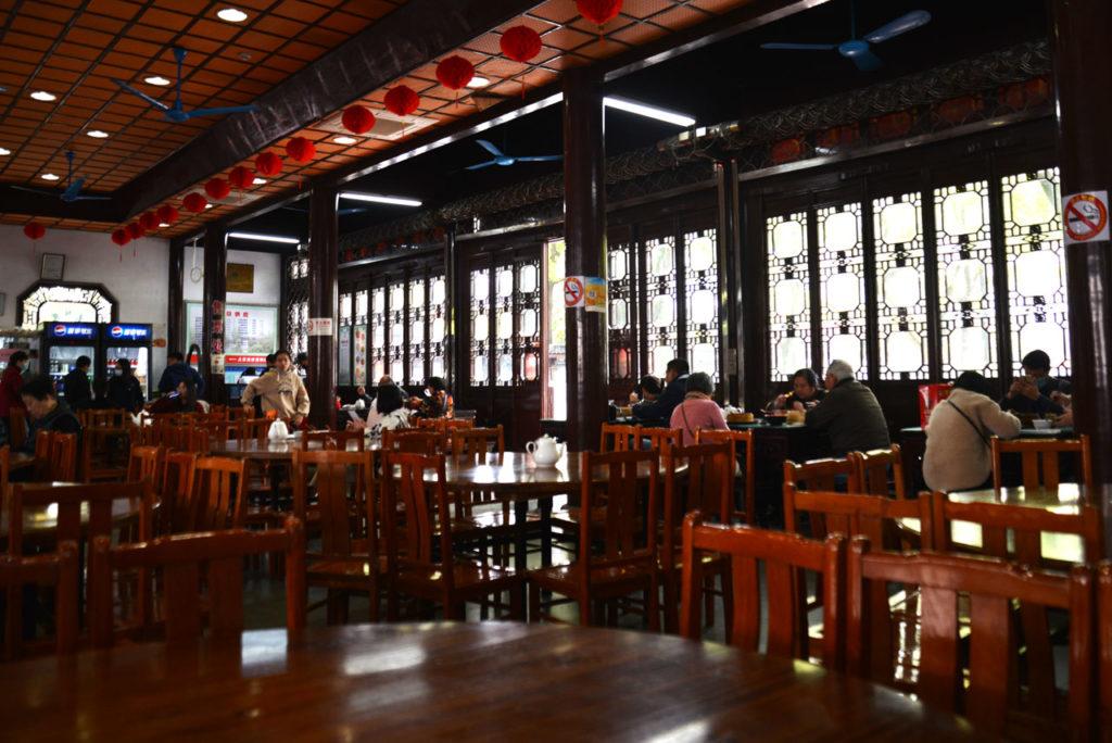 上海古猗园餐厅 南翔小籠包