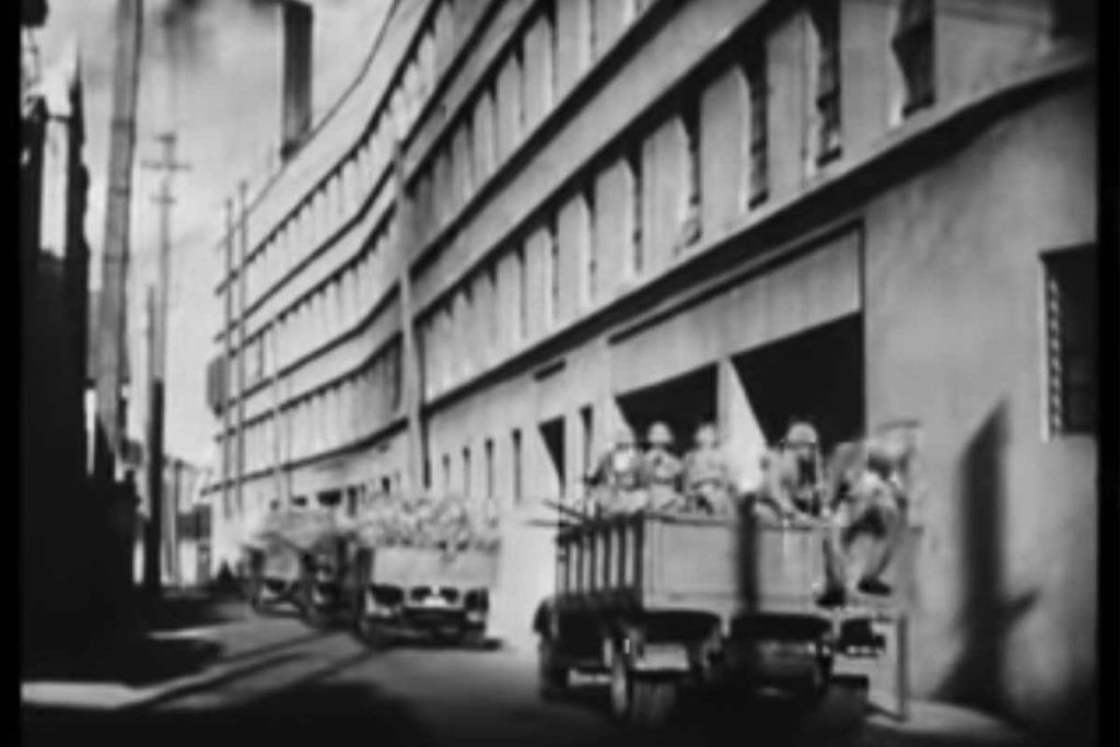 旧日本海軍特別陸戦隊本部