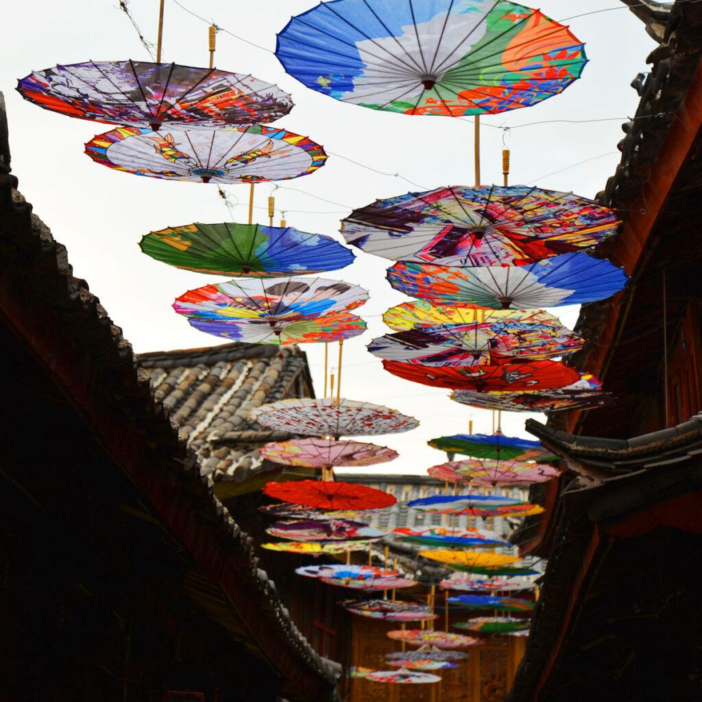 lijiang 丽江 麗江 古城 纸伞街 紙傘街